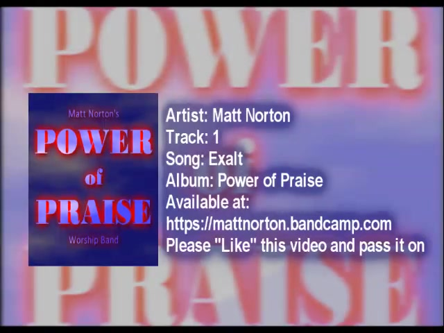 New worship CD 2015 Power of Praise Track One