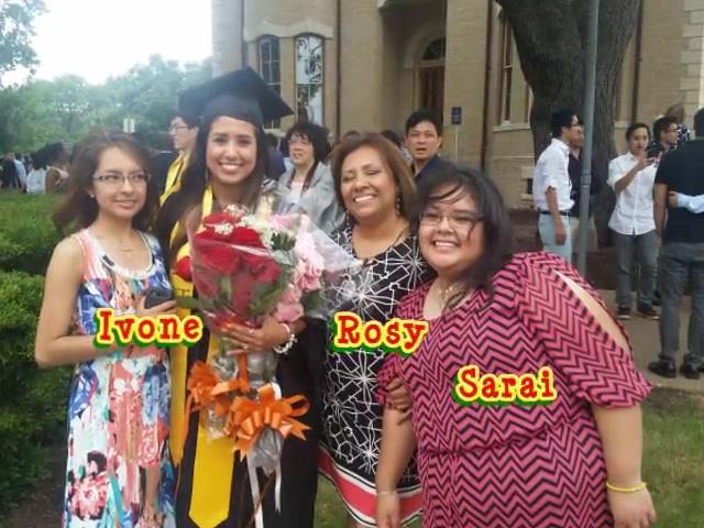 Nohemi Basurto UT Graduation