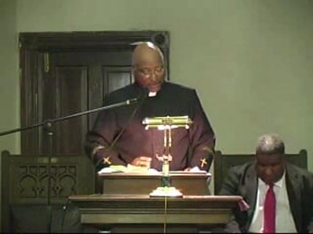 Pastor, Virgil Taylor,