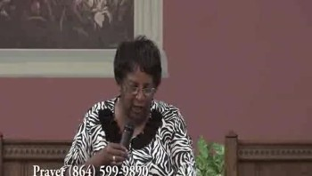 Pastor Brenda Manley@House of Destiny Int. Ministries...The Outcome