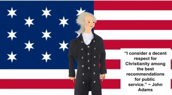 JOHN ADAMS QUOTE ABOUT CHRISTIANITY