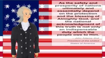 JOHN ADAMS QUOTE ABOUT PROSPERITY AND SAFETY.