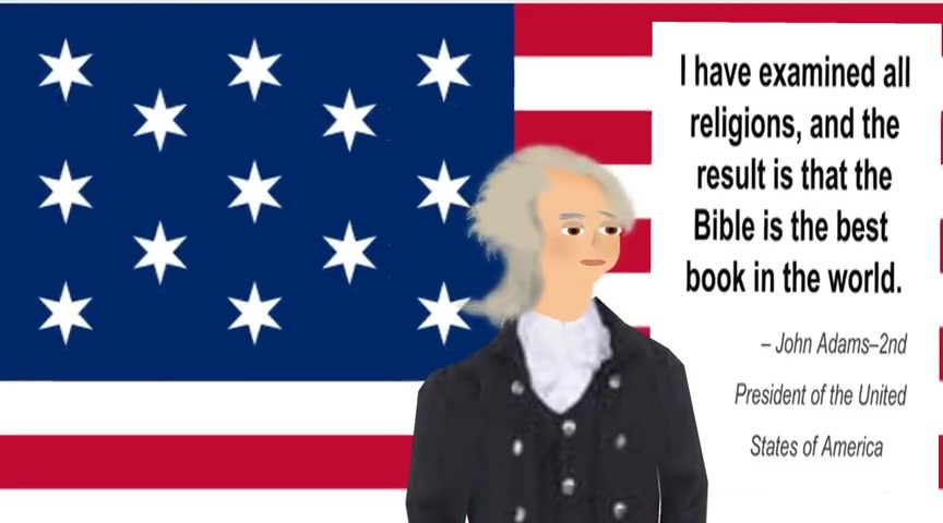 JOHN ADAMS QUOTE ABOUT THE BEST BOOK IN THE WORLD,