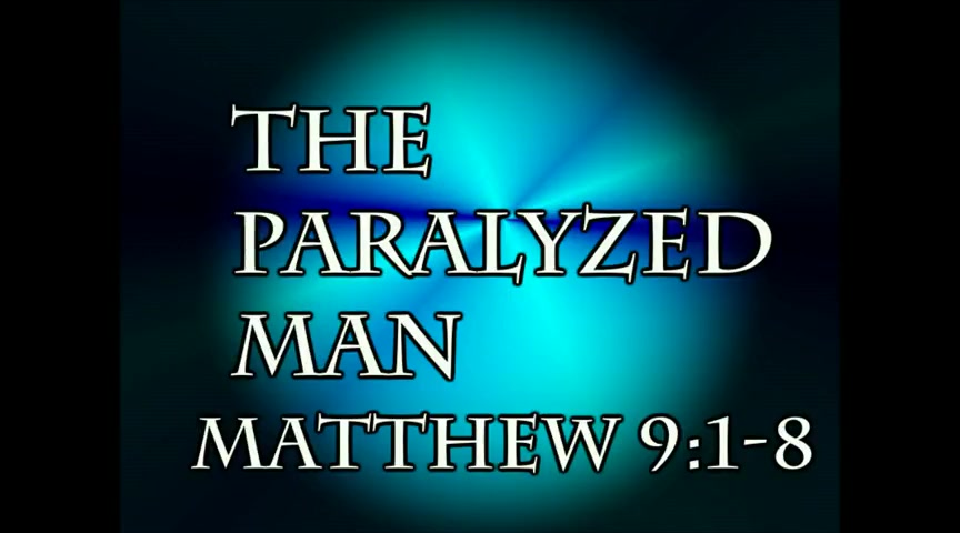 The paralyzed man Matthew 9:1-8