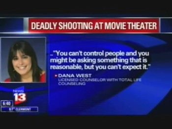Orlando Christian Counseling on Movie Theatre Shooting