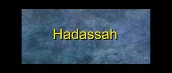 Hadassah - Guest Speaker - Ron Fulton Jr