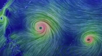 Two Super Typhoons Headed To Japan  China  Guam