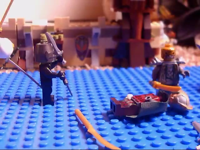 Lego battle of the Robot ninjas