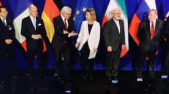 """""""Doomsday Avoided""""? Iran Nuke Deal Signed """"Peace And Safety"""" Paul Begley  Paul Begley"""