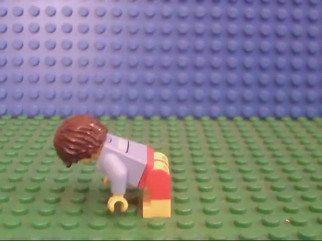 Lego batman and ROBOT short