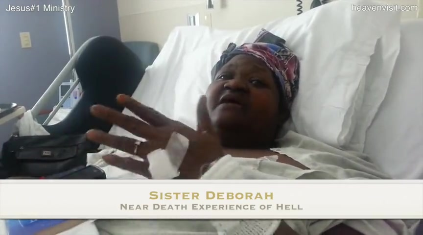 Near Death Experience of Hell - Sister Deborah
