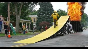 Mercury Morgan: 'Leap of Faith' Epic Stunt Video