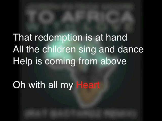 To Africa With Love (REMIX) (Featuring Seth Condrey)