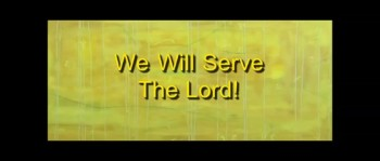 We Will Serve The Lord - Randy Winemiller