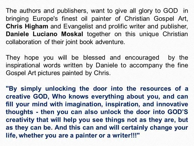 Unlocking the door to God's creativity