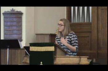 Sabbath Keeping, by Rev. Thyra VanKeeken