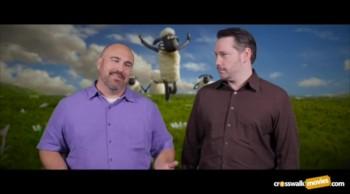 """CrosswalkMovies.com: """"Shaun the Sheep Movie"""" Video Movie Review"""