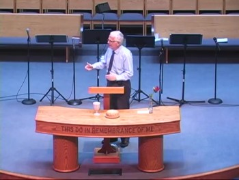 """Sermon-only Aug 9, 2015 """"Staying Close to God"""" (1 Cor 10: 1-20)"""