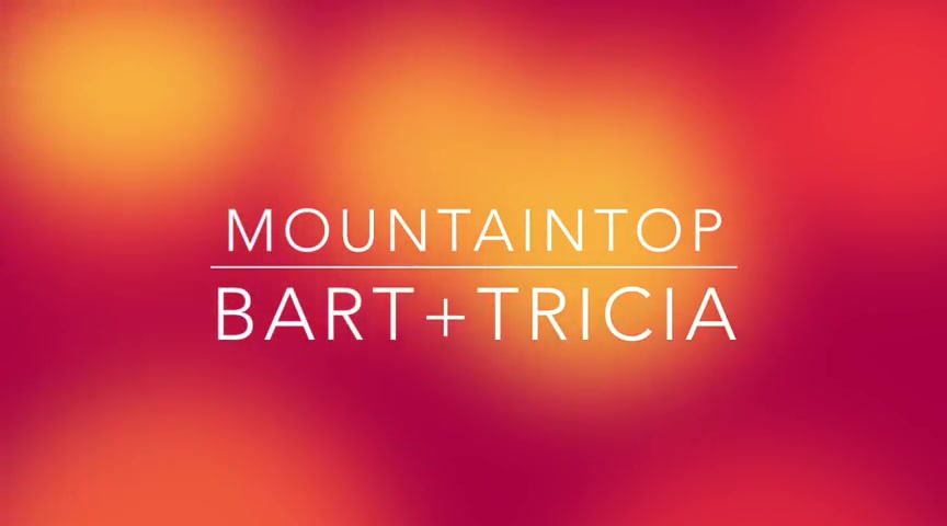 'Mountaintop' - Encouraging Lyric Video From BART+TRICIA