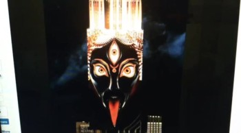 Goddess Kali: The Dark Mother Illuminates Over New York City