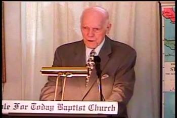 Part 2 -- To Preach The Gospel – 1 Corinthians 1:13-26 –  Pastor D. A. Waite – BFTBC