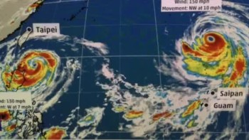 Twin Typhoons Threaten South Pacific