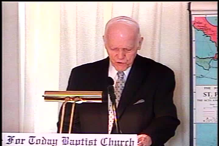 Part 1 -- The Judgment Seat of Christ – Pastor D. A. Waite – Romans 14:1-12 – BFTBC