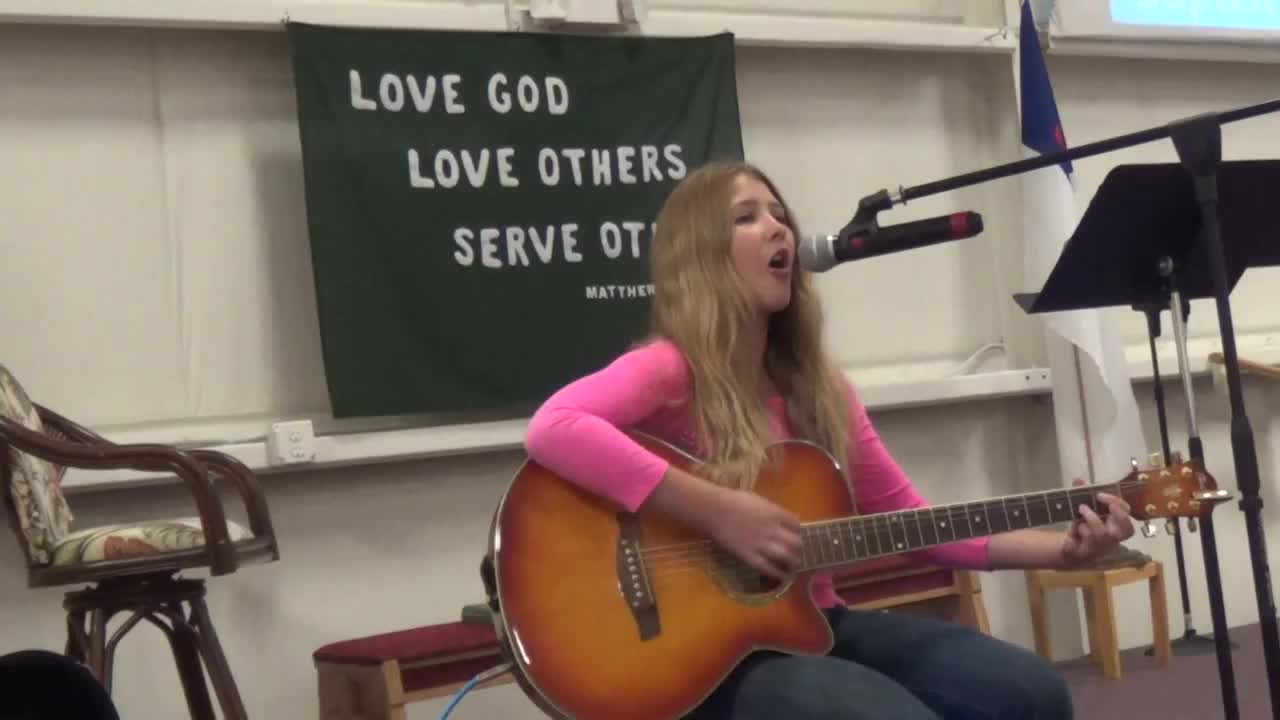 Touch of the Master's Hand - Molly Rae sings