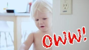 Papa is hurt Leana, OWW! he is diseased | Burykin Family