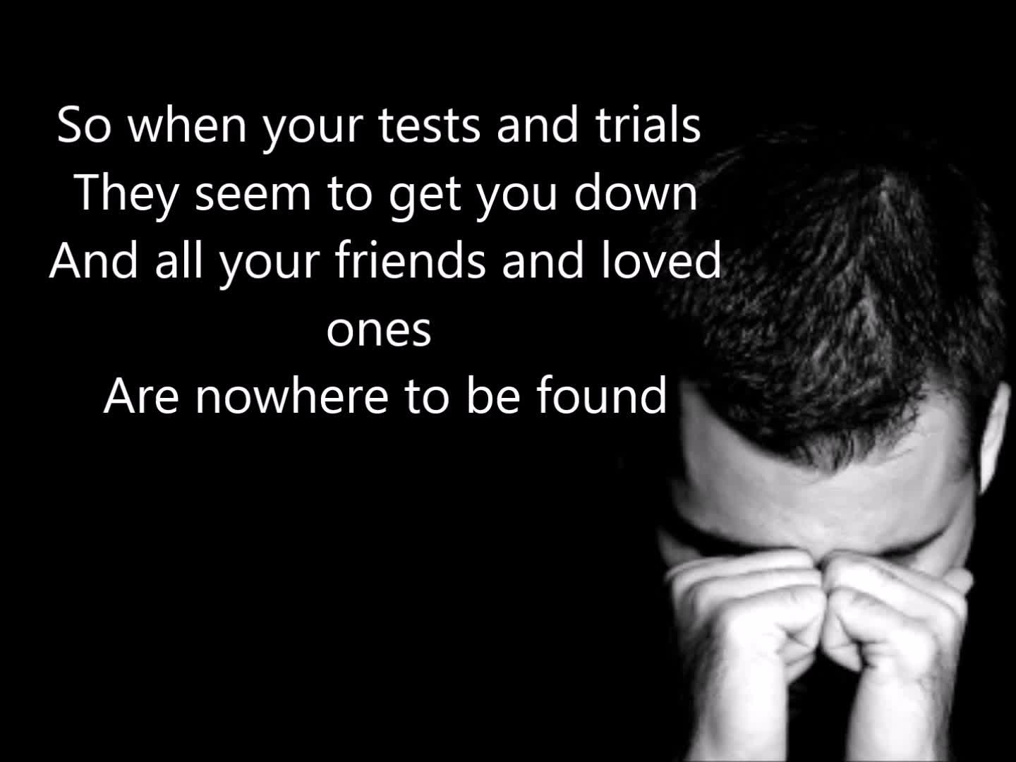 My Life is in Your Hands - Kirk Franklin (W/ Lyrics)