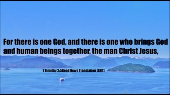 One who bring God and human beings together