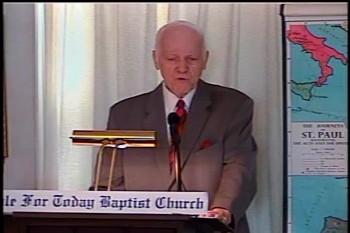 Part 2 -- The Old Testament Value  – Pastor D. A. Waite – Romans 15:1-17  –  BFTBC