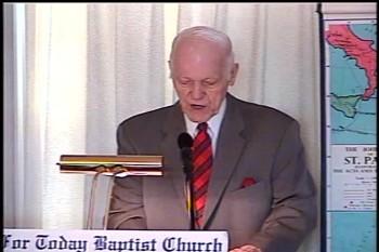 Part 1 -- The Old Testament Value  – Pastor D. A. Waite – Romans 15:1-17  –  BFTBC