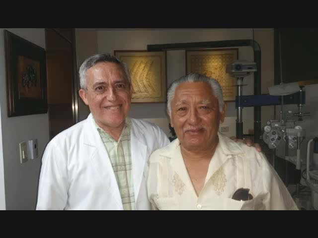 Diagnostico ocular para Guillermo Escamilla en Merida