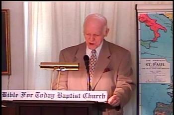Part 2 -- Paul's List of Twenty-Three Helpers  – Pastor D. A. Waite – Romans 16:1-14 –  BFTBC