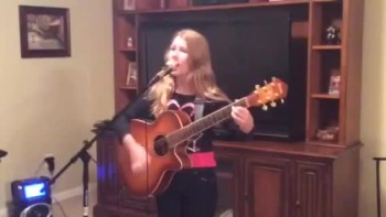 12 year old writes and sings original Christian Song