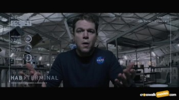 "CrosswalkMovies.com: ""The Martian"" Video Movie Review"