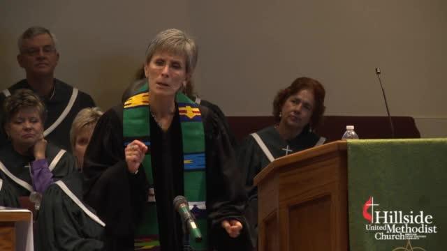 September 27, 2015 Rev. Linda Evans