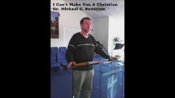 I Can't Make You A Christian