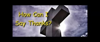 How Can I Say Thanks - Randy Winemiller