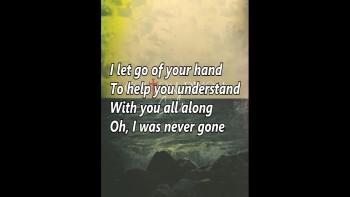 Colton Dixon - Never Gone (Lyrics Video)