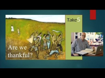 Take5--Are we thankful?