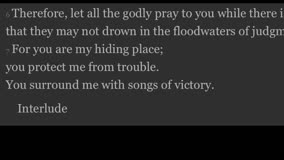 Gideon Lo - Psalm 32