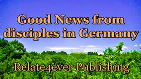 Good news from disciples in Germany