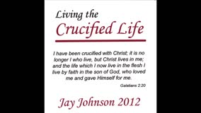 Living Waters by Jay Johnson (CD) Living the Crucified Life