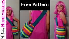 Crochet Purse Pattern (Lunch Purse) (Part 1)