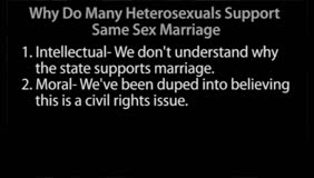 Same-Sex Marriage, part 1 with Frank Turek