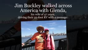 Xulon Press book Walking Across America - One Step At A Time | Jim and Glenda Buckley