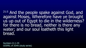 GOSPEL of JOHN-029-Ch.03 (As Moses Lifted Up the Serpent-Pt.1)