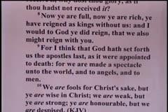 Part 2 -- Faithful Christians Needed  – Pastor D. A. Waite – 1 Corinthians 4:1-11  –  BFTBC